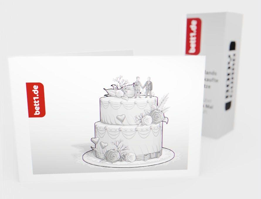 Torte (Mann/Mann)