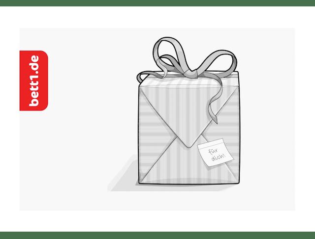 bett1.de Geschenkgutschein