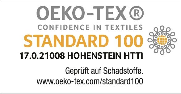 Prüfsiegel OEKO-TEX Standard 100
