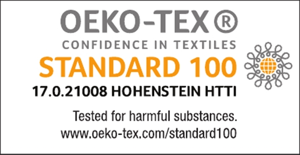 Oeko-Tex Standard 100 test seal