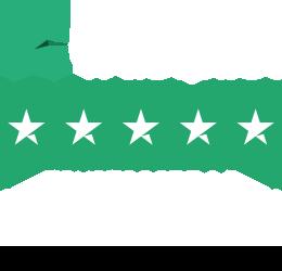 Trustpilot Bewertungen - 50000+ - Durchschnittsbewertung 9.5