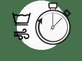 Symbole zeigen: leicht waschbar und schnell trocknend